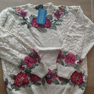 Land's End fair isle knitted sweater